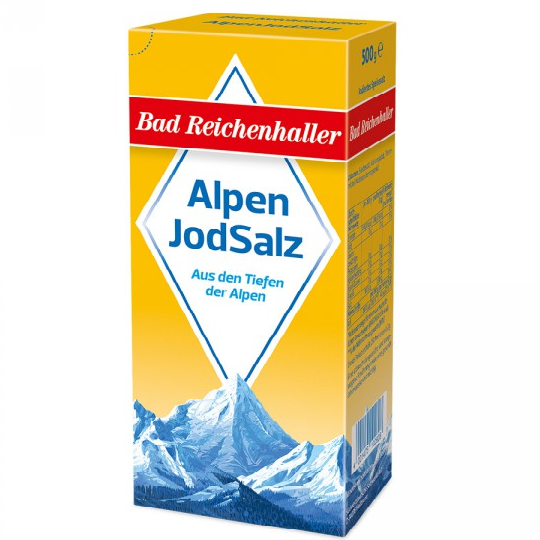 Muối i-ốt Alpen Jodsalz