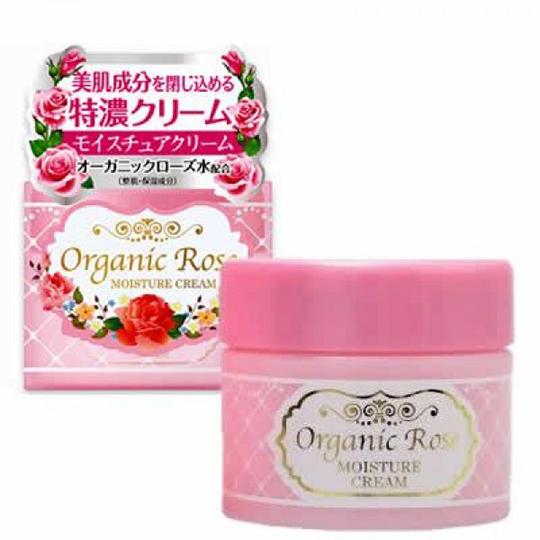 Kem dưỡng trắng da Organic Rose Meishoku
