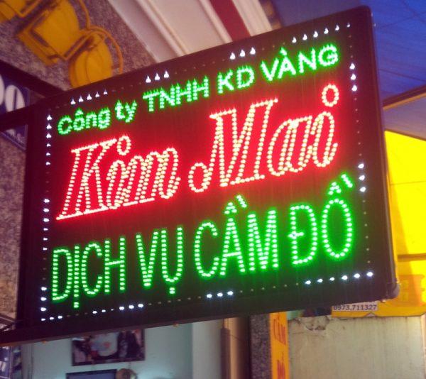 biển quảng cáo đèn led Lào Cai