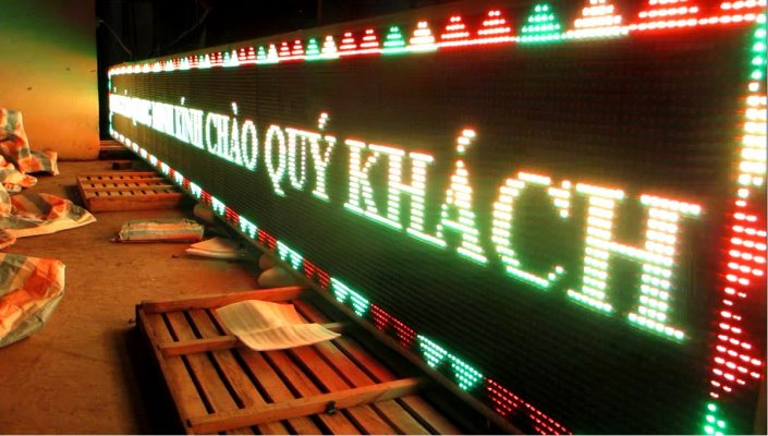 biển quảng cáo đèn led tại Lào Cai