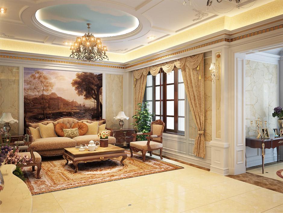thiết ké thi công nội thất biệt thự Lào Cai