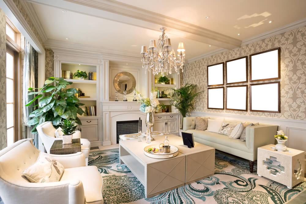 Thiết kế nội thất phòng khách tại lào cai