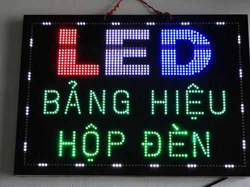 Biển quảng cáo đèn led chữ nổi
