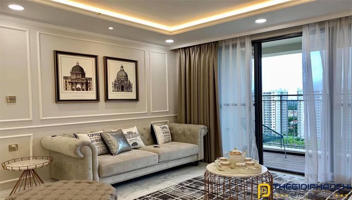 Giấy dán tường phòng khách giá rẻ Lào Cai