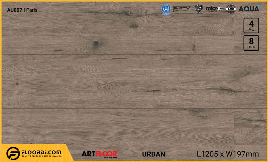 Sàn gỗ Artfloor AU007 - Urban - Paris - 8mm - AC4