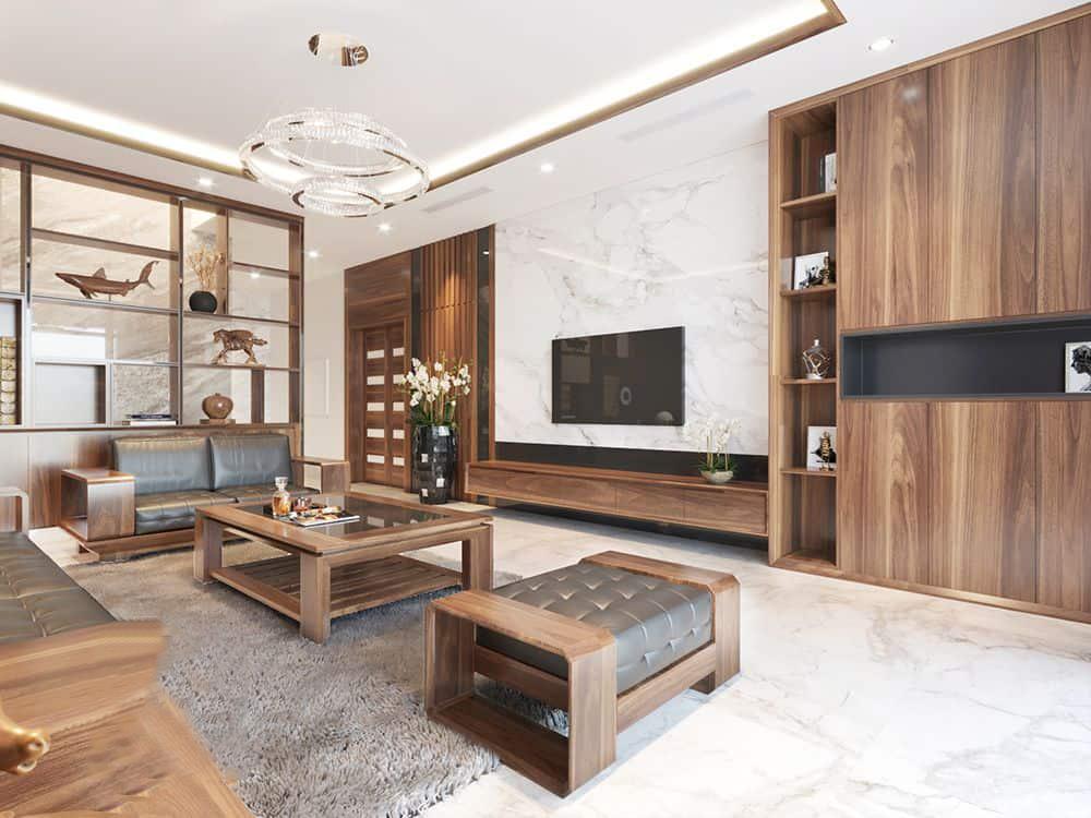 Nội thất phòng khách hiện đại tại Lào Cai Sapa