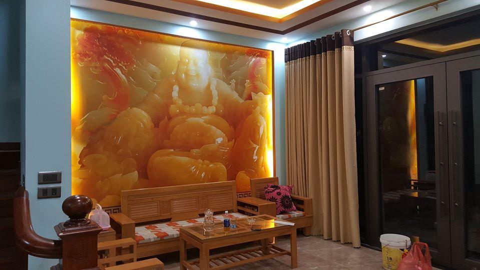 Tranh dán tường giả ngọc Lào Cai