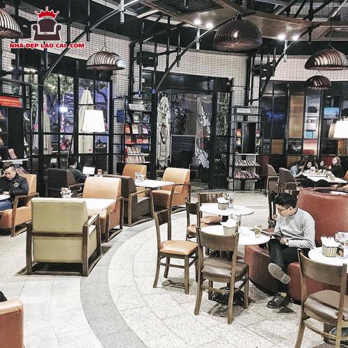Thiết kế nội thất quán cà phê Lào Cai