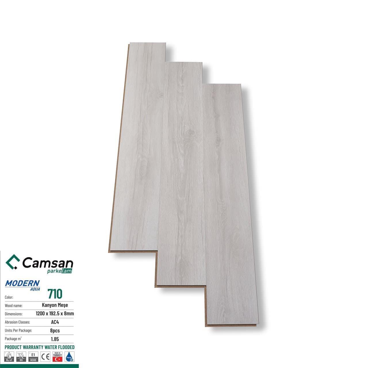 Sàn gỗ camsan 8mm
