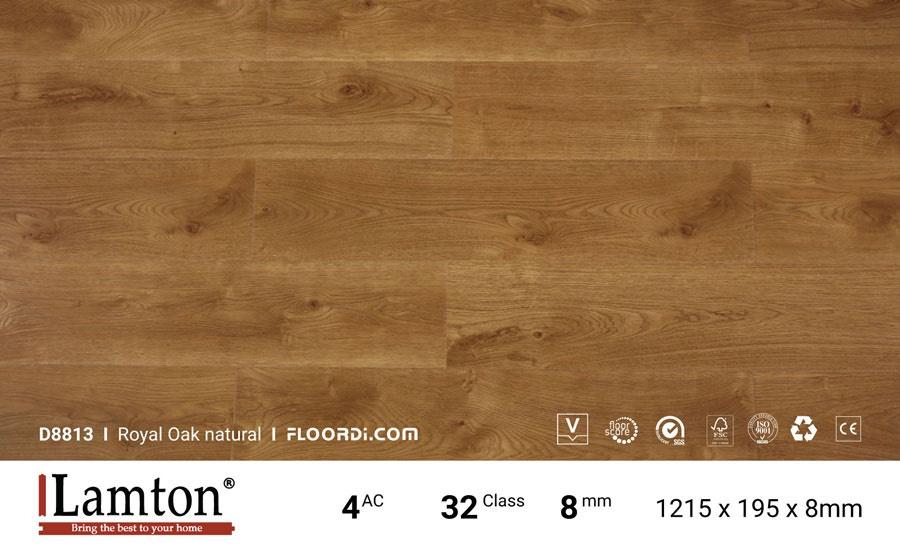 Sàn gỗ lamton*8mm