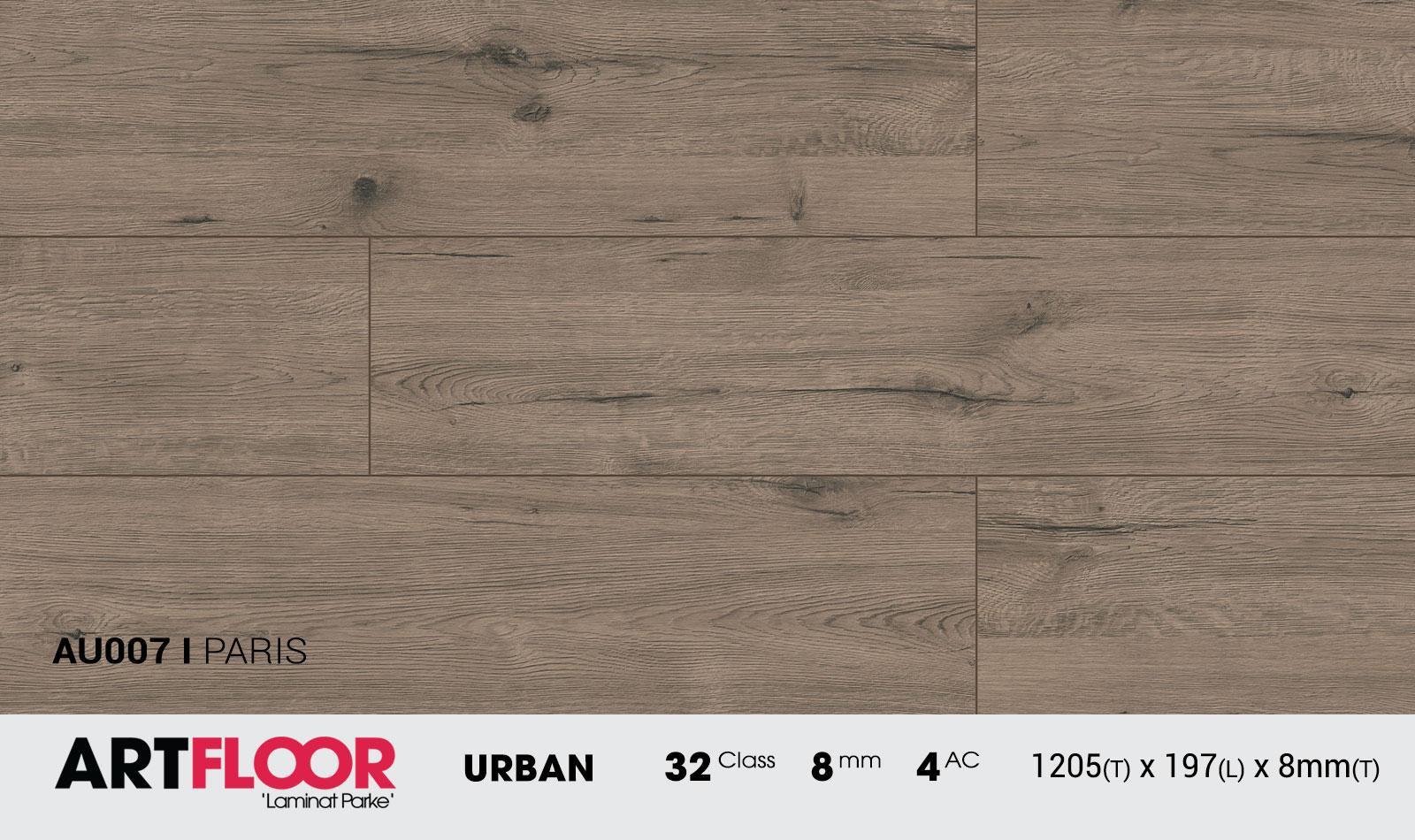 Sàn gỗ ART x8mm