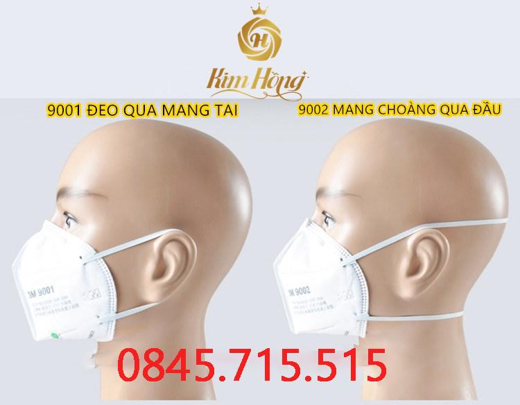 KHẨU TRANG 3M 9001 - 9002