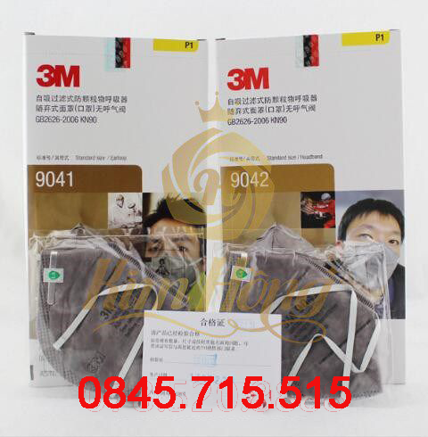 KHẨU TRANG 3M 9041 - 9042