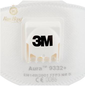 KHẨU TRANG 3M 9332+ (Aura FFP3)