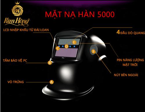 MẶT NẠ HÀN CẢM ỨNG 5000