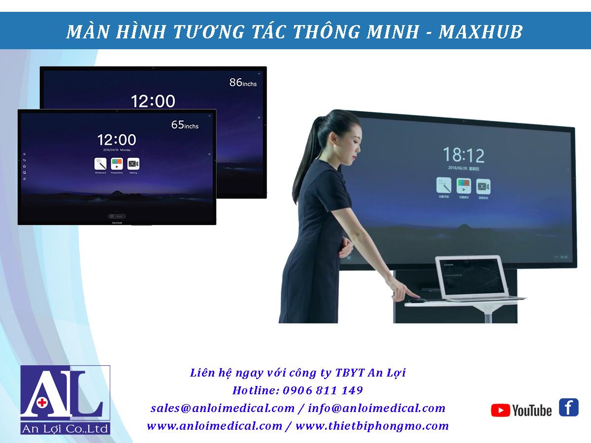 MÀN HÌNH TƯƠNG TÁC THÔNG MINH MAXHUB