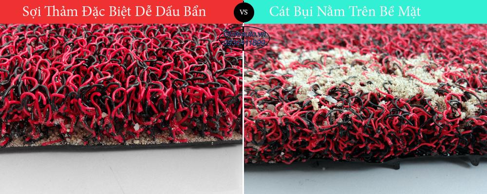 sự khác biệt của thảm malaysia