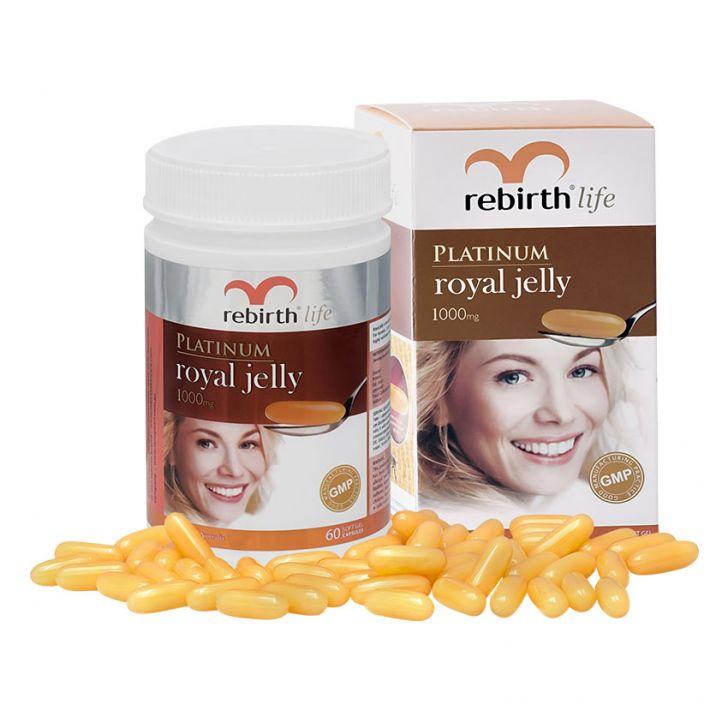 Sữa ong chúa Platinum Royal Jelly