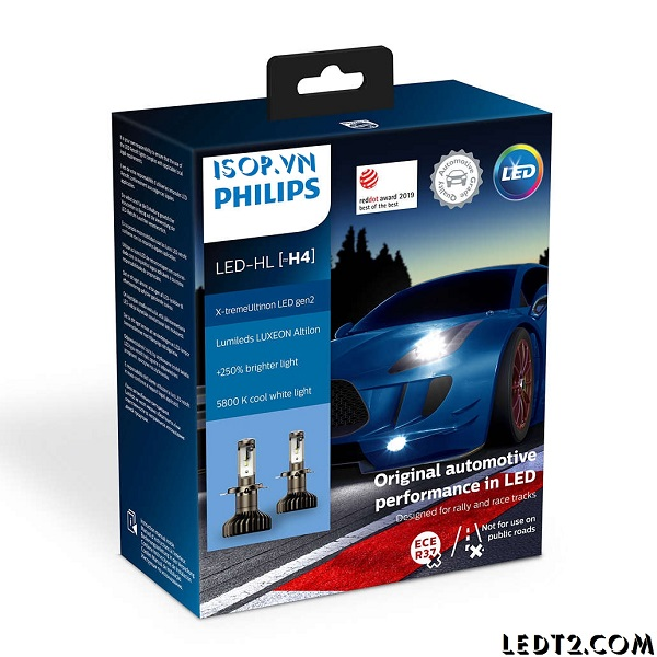 Đèn pha LED Philips Xtreme Ultinon Gen 2 +250%