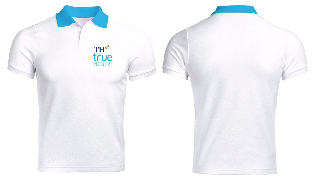 Áo thun đồng phục TH-True Milk