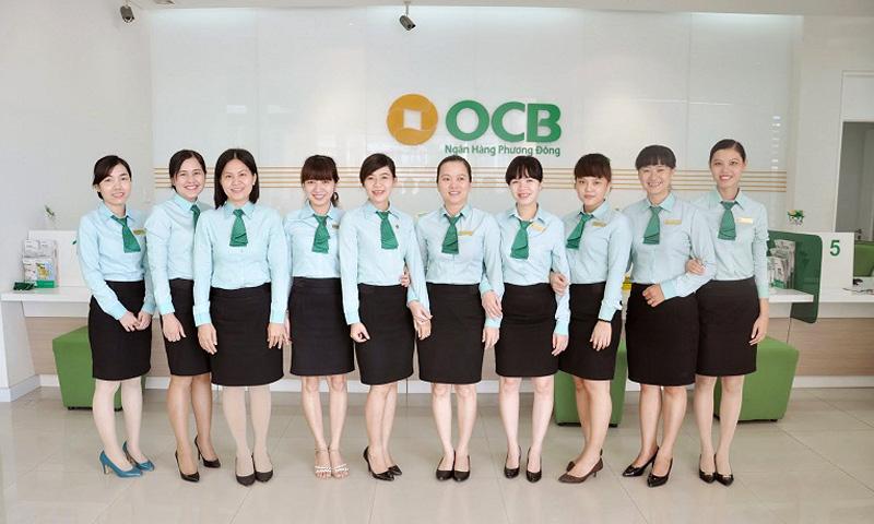 Áo sơ mi đồng phục ngân hàng OCB