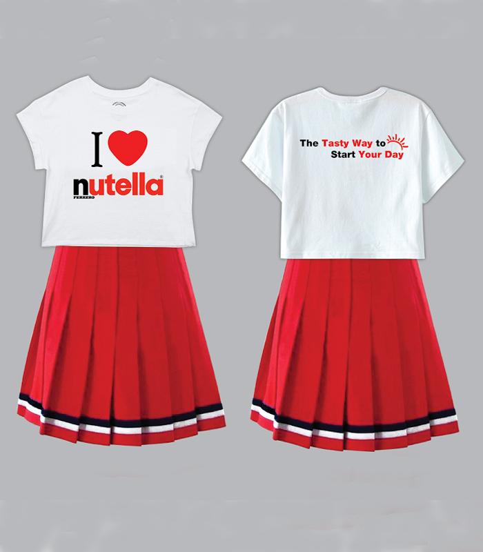 Đầm đồng phục Nutella