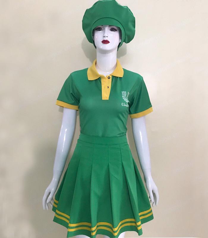 Đầm đồng phục Unilever