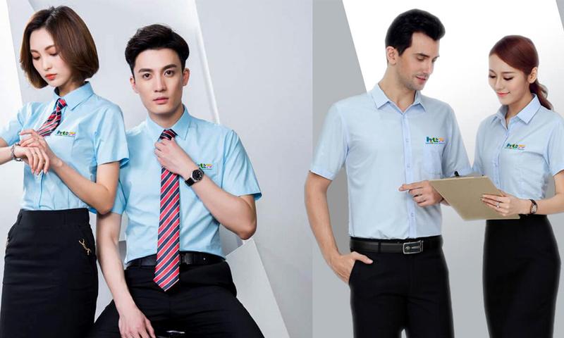 Đồng phục áo sơ mi công ty HTT