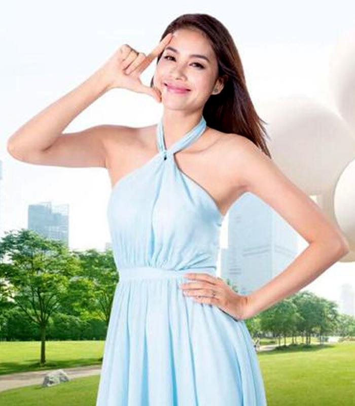 Đầm đồng phục Skin Aqua