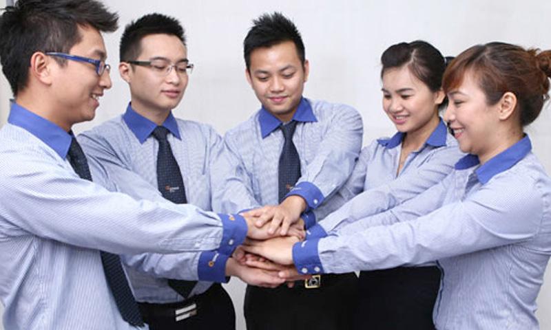 Đồng phục áo sơ mi ngân hàng TP Bank