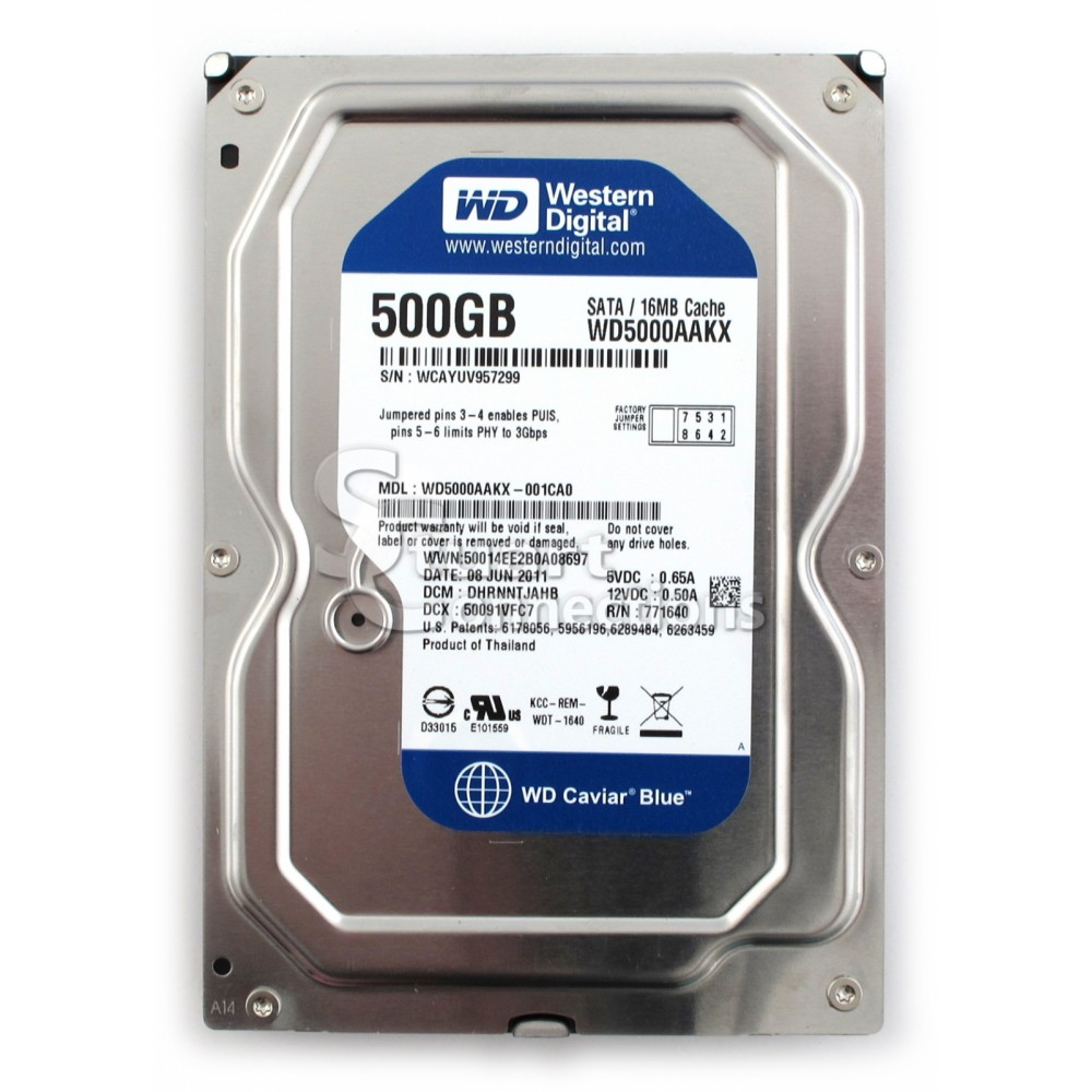 WESTERN DIGITAL BLUE 500G