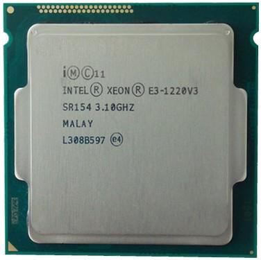 Intel Xeon E3 1220V3 (3.10GHz/ 8M Cache/ SK 1150)