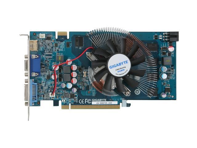 Gigabyte 9600GT-1GI (Nvidia GeForce 9600GT, 1024MB GDDR3, 256 bit)