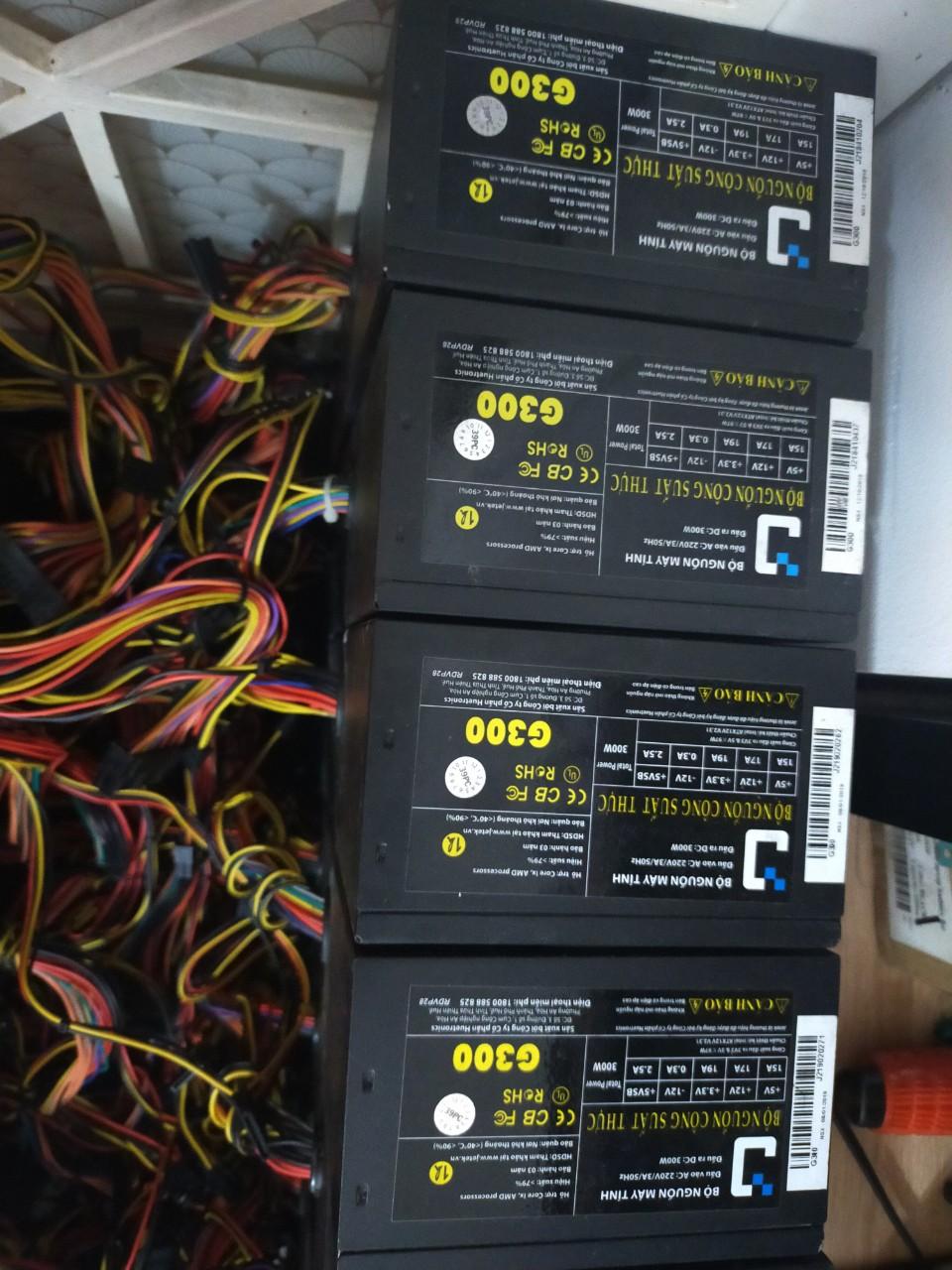 Nguồn máy tính CST hiệu Jetek G300W