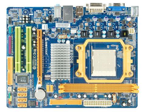 COMBO AMD BIOSTAR GF8200E + AMD X4 620 + DDR2 2G/800