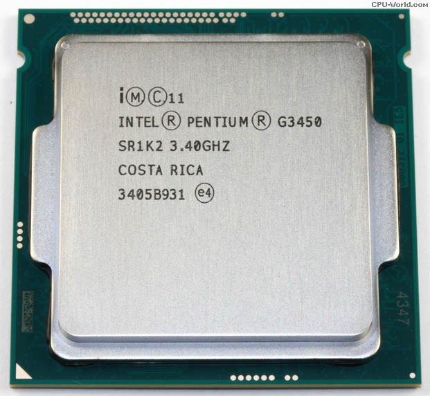 Intel Pentium G3450 (3.40GHz/ 3MB Cache/ SK 1150)