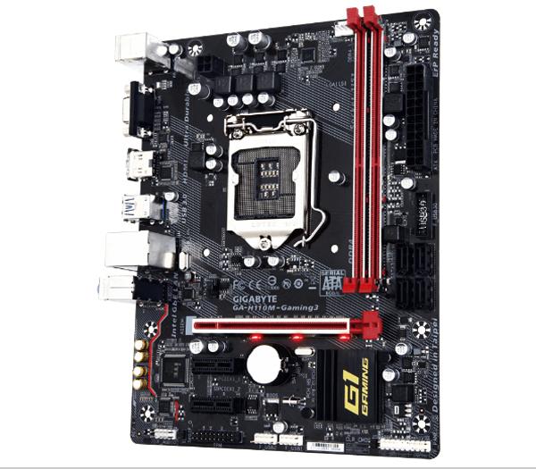 Gigabyte GA - H110M Gaming 3