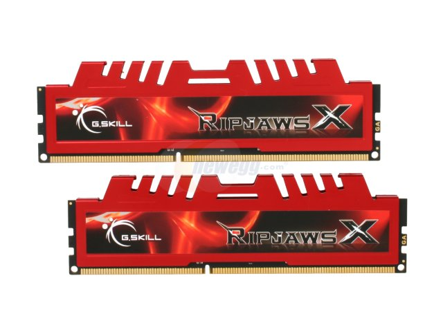 DDR3 - 4GB Bus 1600MHz Gskill Ripjaws