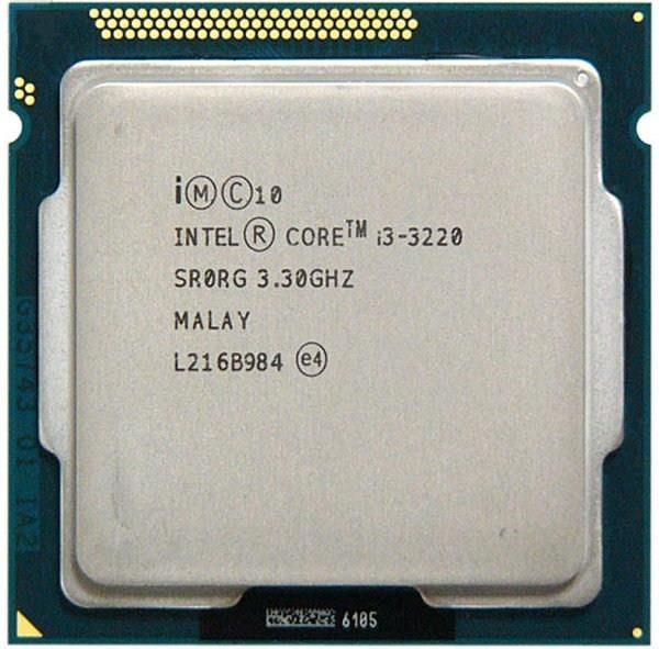 Intel Core i3 3220 (3.3GHz/3M Cache/ SK 1155)