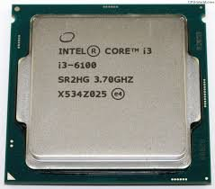 Intel Core i3-6100 (3.7 GHz / 3MB / HD 530 Graphics  / Socket 1151/Skylake)