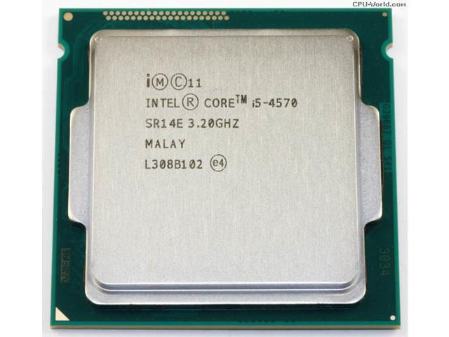 Intel Core i5 4570 (3.20GHz/ 6M Cache/ Socket 1150)
