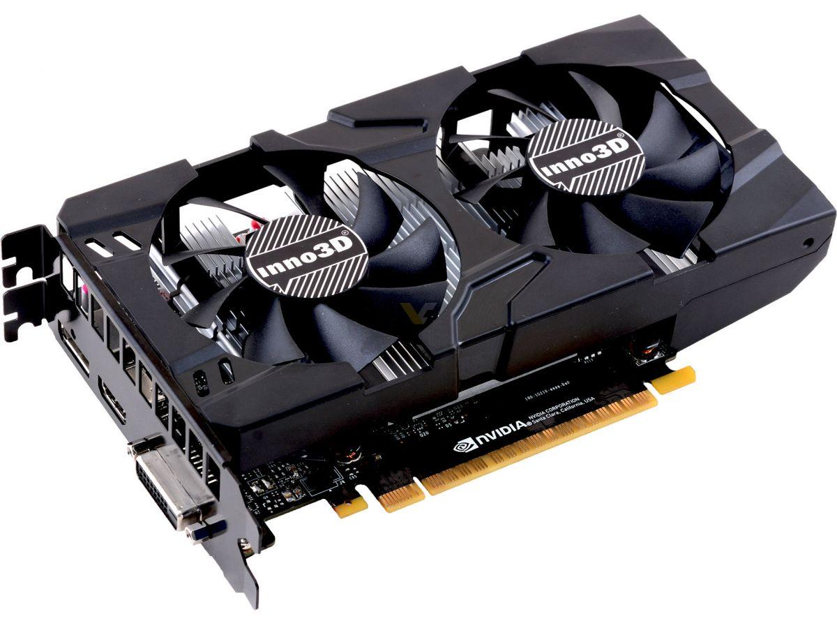 INNO3D GTX 1050Ti 4G DDR5 128BIT 2FAN