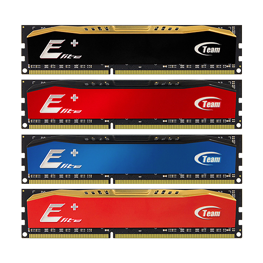 DDR3 - 4GB Bus 1600MHz TEAM ELIT tản nhiệt