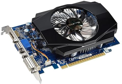 Gigabyte GV-N430-2GI (Nvidia GeForce GT 420, 2048MB GDDR3, 128 bit)