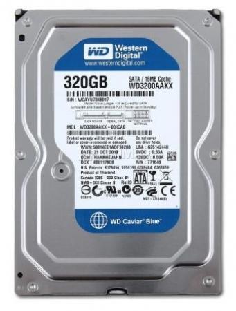 HDD 320G WD , Toshiba , Hitachi