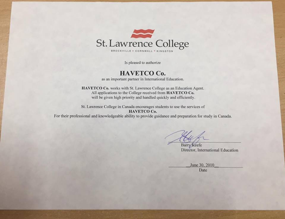 St.LAWRENCE COLLEGE - CANADA