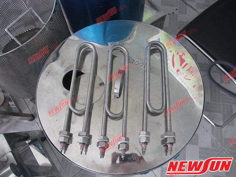 Đầu tiên mua thanh lý tủ nấu công nghiệp dễ gặp phải thanh nhiệt bị hỏng