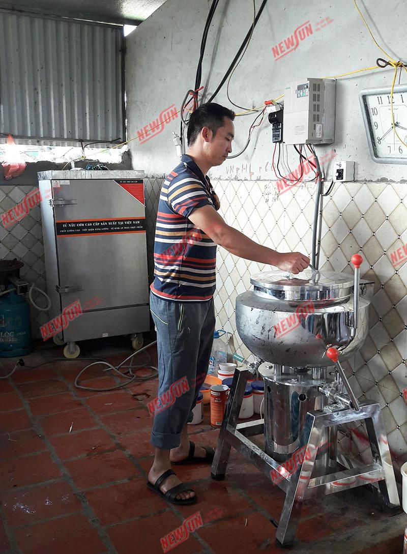 Máy xay giò chả công nghiệp NEWSUN từ 3kg - 50kg