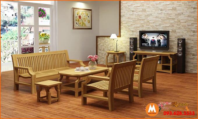 Sofa Gỗ đẹp Sfg 048
