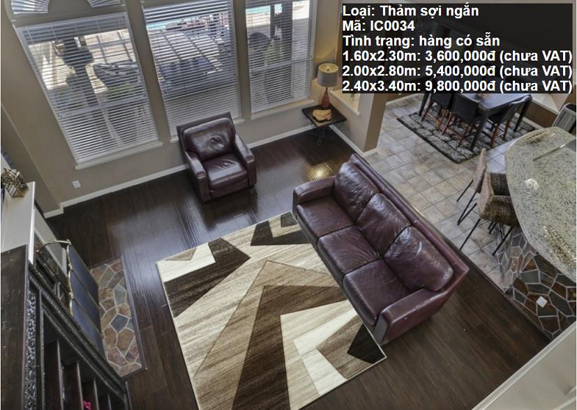 Thảm Sofa Đẹp IC0034